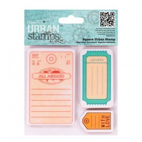 Sello Scrapbooking Urban Stamps