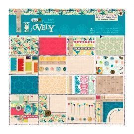 Papel Scrapbooking Sew Lovely