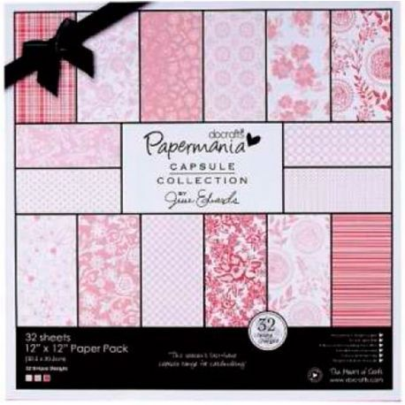 Papel Scrabooking Parkstone Pink