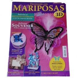 Revista Decorando con Mariposas 3D