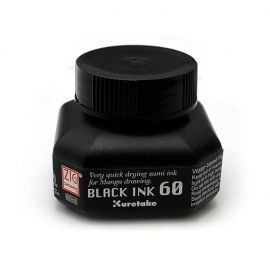Tinta Black Ink 60 Kuretake