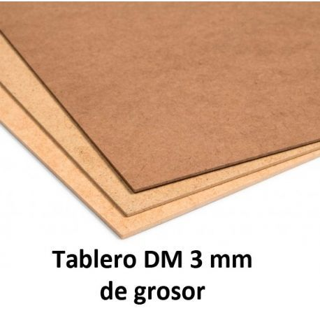 Tablero DM de 3mm
